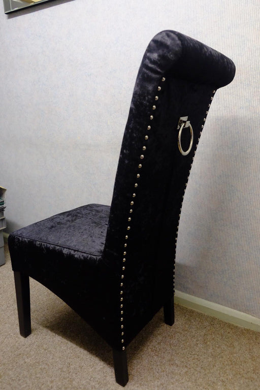 C2/Lucy Black Ringer Chair(Black legs)
