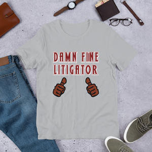 Damn Fine Litigator *Brown Fingers* - Legaltee