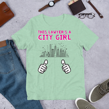 Load image into Gallery viewer, City Girl Attorney *White Fingers* - Legaltee