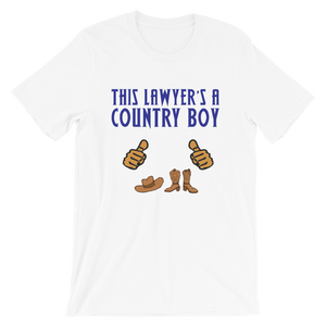 Country Boy Lawyer *Tan Fingers* - Legaltee