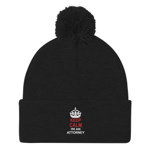 Keep Calm Pom Pom Knit Cap - Legaltee