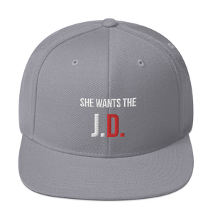 She Wants the J.D. Snapback Hat - Legaltee