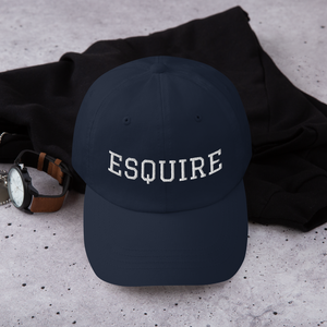 Esquire Curved Hat - Legaltee