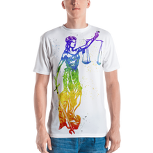 Load image into Gallery viewer, Watercolor Lady Justice - Legaltee
