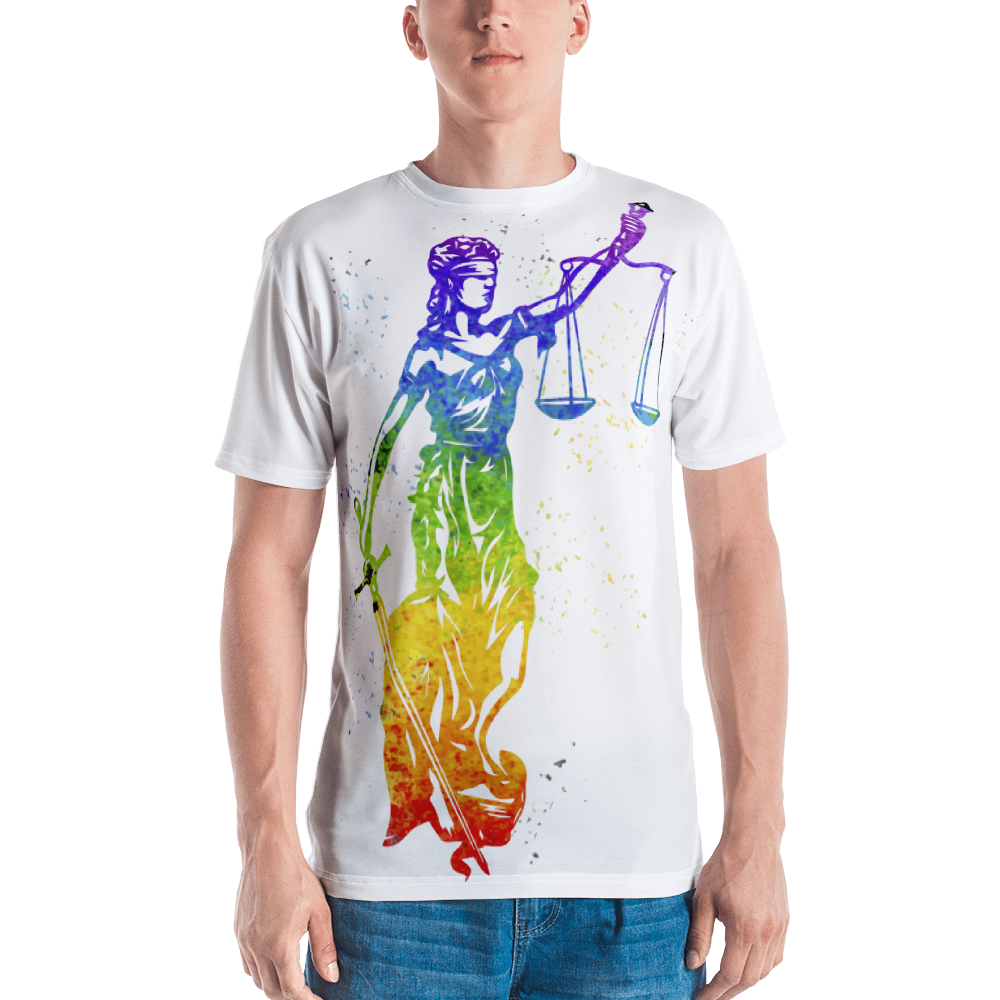 Watercolor Lady Justice - Legaltee