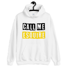 Load image into Gallery viewer, Call Me Esquire Unisex Hoodie - Legaltee