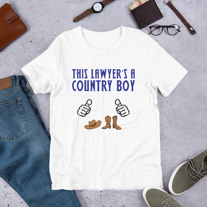 Country Boy Lawyer *White Fingers* - Legaltee