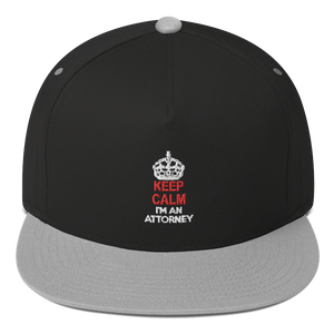 KEEP CALM Flat Bill Cap - Legaltee