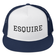 Load image into Gallery viewer, Esquire Trucker Cap - Legaltee