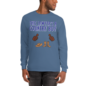 Country Boy Long Sleeve *brown fingers* - Legaltee