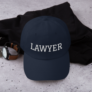 Lawyer Curved Hat - Legaltee