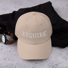 Load image into Gallery viewer, Esquire Curved Hat - Legaltee