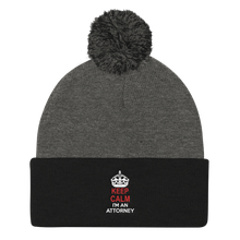 Load image into Gallery viewer, Keep Calm Pom Pom Knit Cap - Legaltee