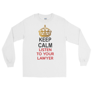 Keep Calm Long Sleeve - Legaltee
