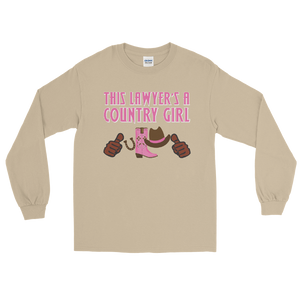 Country Girl Long Sleeve *brown fingers* - Legaltee