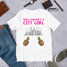 Load image into Gallery viewer, City Girl Attorney *Tan Fingers* - Legaltee