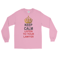 Load image into Gallery viewer, Keep Calm Long Sleeve - Legaltee