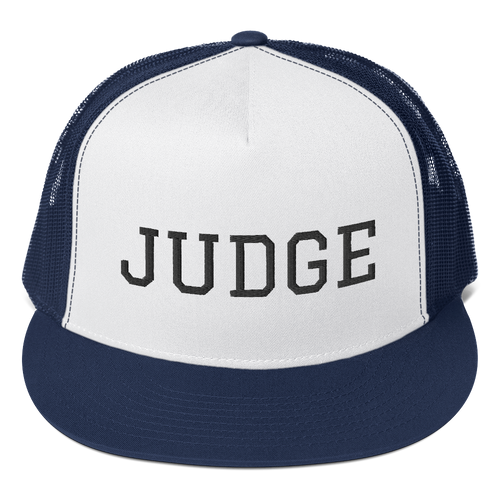 Judge Trucker Cap - Legaltee