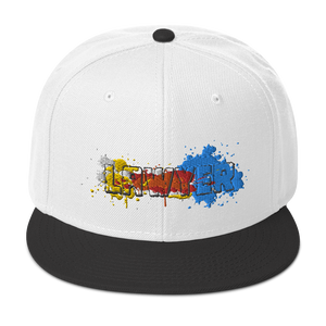 Lawyer Color Splash Snapback Hat - Legaltee