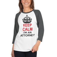 Load image into Gallery viewer, Keep Calm 3/4 Sleeve *Colors* - Legaltee