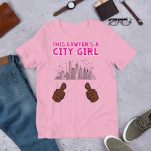 Load image into Gallery viewer, City Girl Attorney *Brown Fingers* - Legaltee