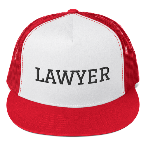 Lawyer Trucker Cap - Legaltee