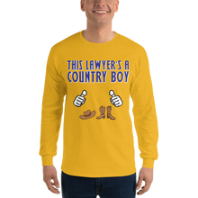 Load image into Gallery viewer, Country Boy Long Sleeve *white fingers* - Legaltee