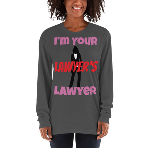 Your Lawyers Lawyer Women Long Sleeve - Legaltee