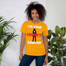Load image into Gallery viewer, Your Lawyer's Lawyer Women - Legaltee