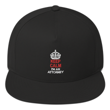 Load image into Gallery viewer, KEEP CALM Flat Bill Cap - Legaltee