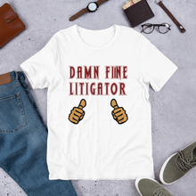 Load image into Gallery viewer, Damn Fine Litigator *Tan Fingers* - Legaltee