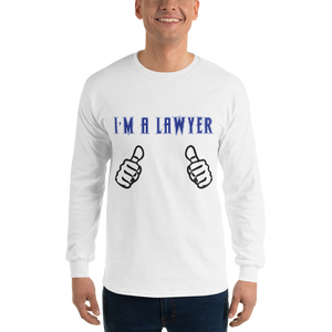 I'm an Attorney Long Sleeve *clear fingers* - Legaltee