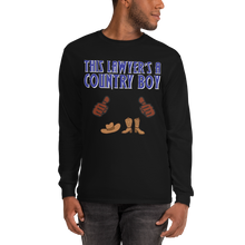 Load image into Gallery viewer, Country Boy Long Sleeve *brown fingers* - Legaltee