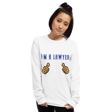 Load image into Gallery viewer, I'm A Lawyer Long Sleeve - Legaltee