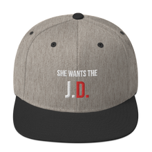 Load image into Gallery viewer, She Wants the J.D. Snapback Hat - Legaltee