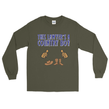Load image into Gallery viewer, Country Boy Long Sleeve *tan fingers* - Legaltee