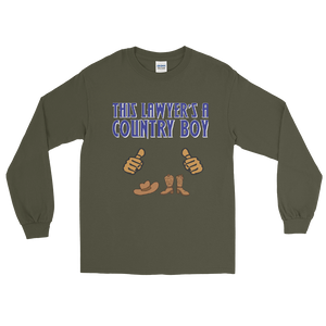 Country Boy Long Sleeve *tan fingers* - Legaltee