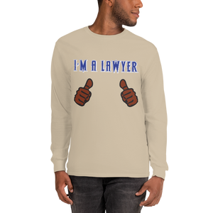 I'm a Lawyer Long Sleeve *brown fingers* - Legaltee