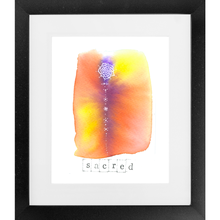 Load image into Gallery viewer, Sacred - SoulSpace Oracle framed print