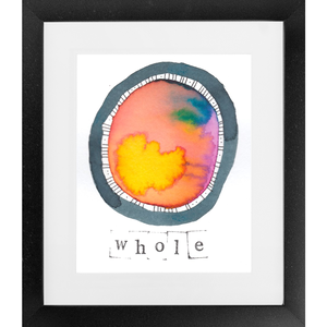 Whole - SoulSpace Oracle print