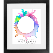 Load image into Gallery viewer, Manifest - SoulSpace Oracle print