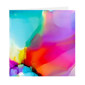 Greeting card 10-pack: Soft prism