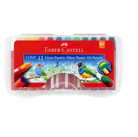 Crayones Oil Pastels Faber Castell (12 unidades)