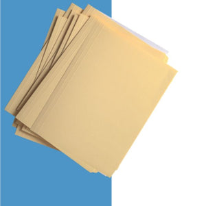 Folder Amarillo Tamaño Carta 200 Grs Top