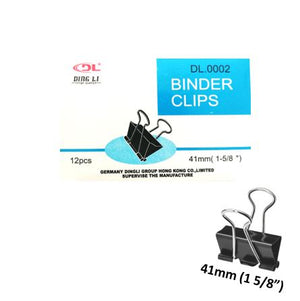 "Doble Clip 41MM (1 5/8"") X12U Dingli"