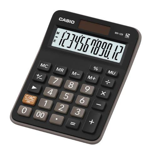 Calculadora de escritorio 12 dígitos MX-12B Casio