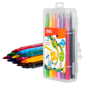 Color Emotion Deli Brush Tip Est/12 Pzas (Punta Pincel)