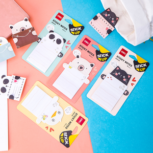 Sticky Notes (Notas adhesivas) Animales Deli