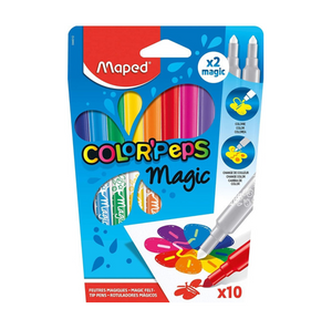 Marcadores Maped Color'Peps Magic (8+2)