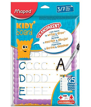 Pizarra Flexible Transp Kidy Board Maped